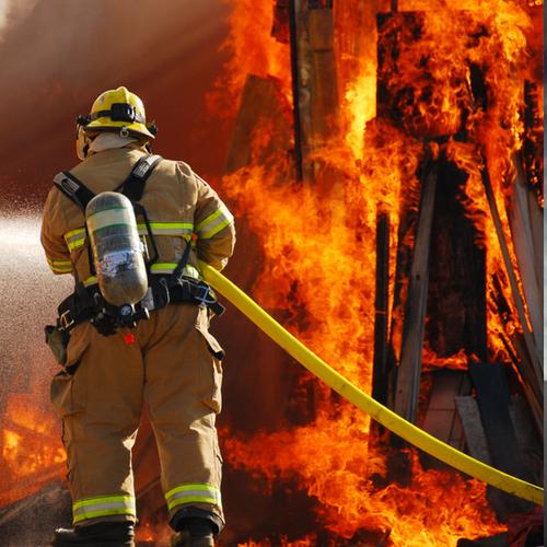 karty metafor - strażak
